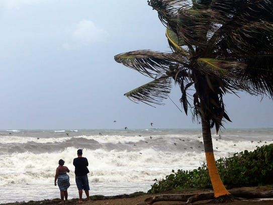 ... Miami residents still on alert despite weakening Tropical Storm Erika