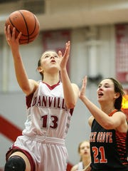 Ella Collier leads a Danville team looking for its first trip to the state finals.