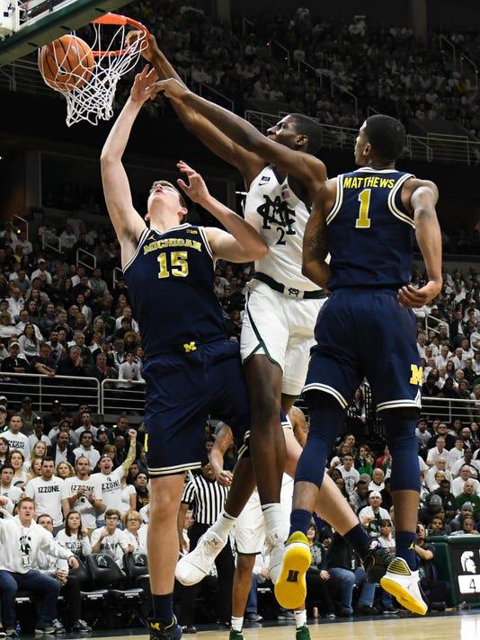 MSU vs. UM - Mens Basketball