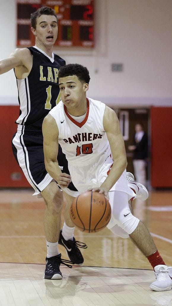 Kobe Webster was named to the Indiana Crossroads Conference team.