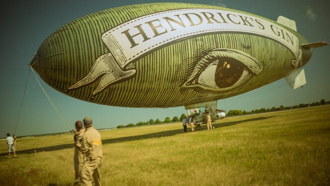 The Hendrick's Gin Flying Cucumber is headed to Indianapolis this weekend.
