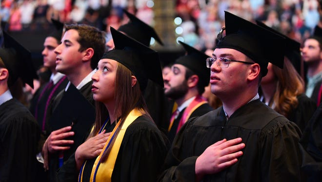 Students of the Florida State University Class of 2017 graduated with their batchelors, masters, and doctoral degrees on Friday, May 5th, and Saturday, May 6th at the Donald L. Tucker Civic Center.