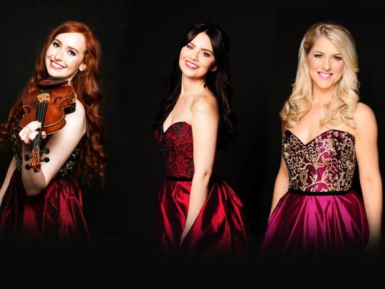 Tara McNeill (left), Mairéad Carlin, Susan McFadden and Éabha McMahon make up the current edition of Celtic Woman.