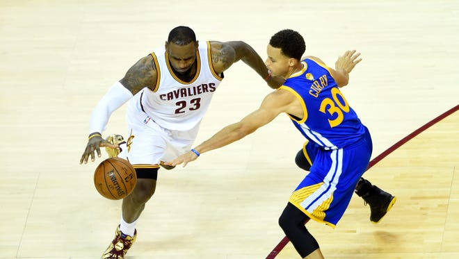 The Cavaliers and Warriors will meet in the NBA Finals for the second consecutive year.