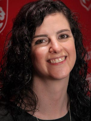 The Norwich Free Academy 2020-21 Teacher of the Year Rebecca Holdridge.