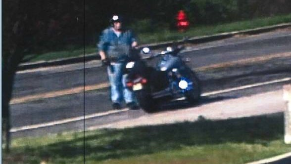 Police want to talk this person about damage to tires in the Vineland Industrial Park.