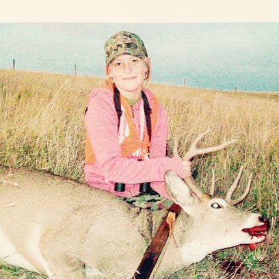 Madison Hermiller took this white-tailed deer during
