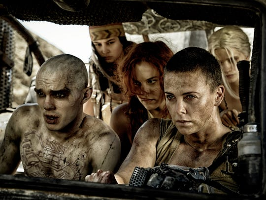 Nicholas Hoult's Nux and Charlize Theron's Furiosa