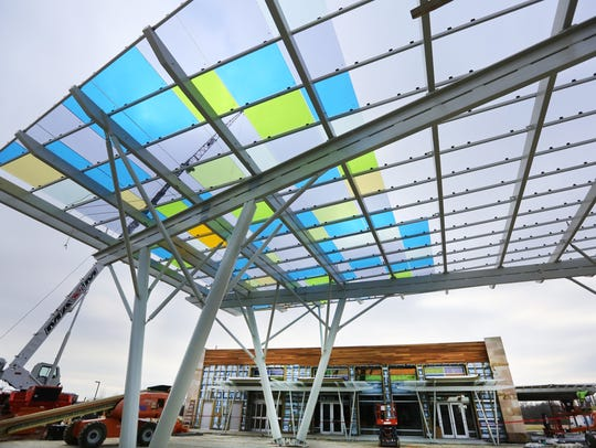 Construction continues at Summit Park in Blue Ash.