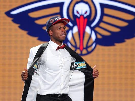 USP NBA: NBA DRAFT S BKN USA NY