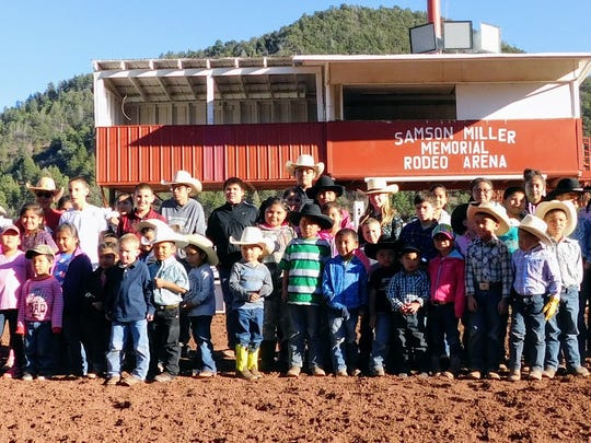 One hundred four children participated in the Mescalero Youth Rodeo School and 69 participated in the youth rodeo Friday.
