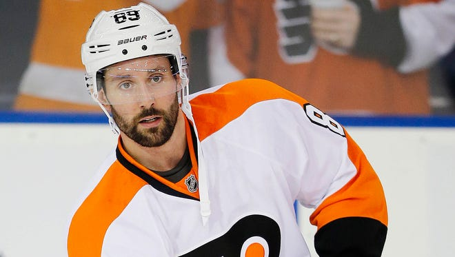 Sam Gagner's offense may be too good for the Flyers to bench him once Jake Voracek returns.