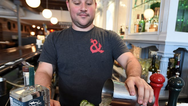 Dogfish Head spin-off Chesapeake & Maine in downtown Rehoboth Beach offers cocktails made with Dogfish's own line of spirits.
