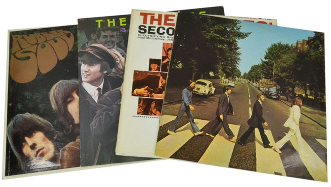 Old vinyl record albums are a collectibles hit with millennials.