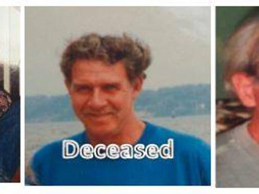 The U.S. Marshals released these photos of John Elmer Woodards.