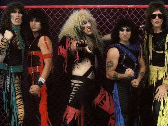 Twisted Sister (with Dee Snider, center), circa 1984.