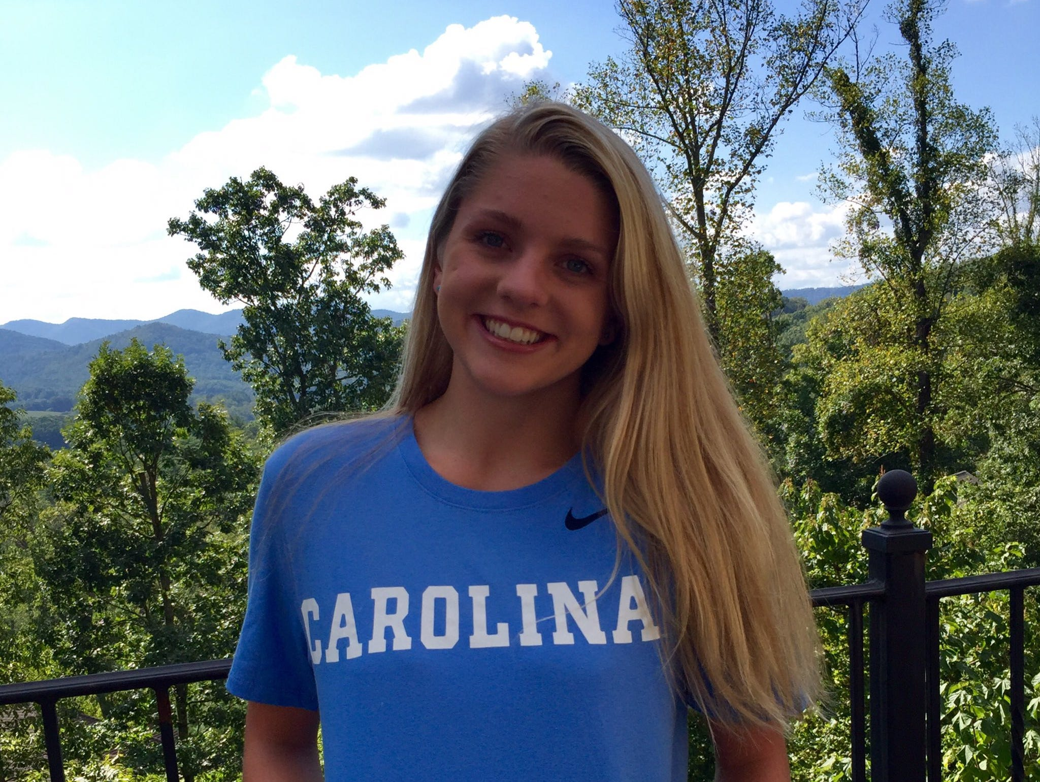 Roberson senior Mary-O Soule has committed to swim in college for the University of North Carolina.