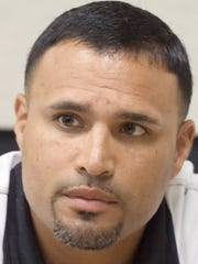 Biglerville head football coach Alex Ramos.