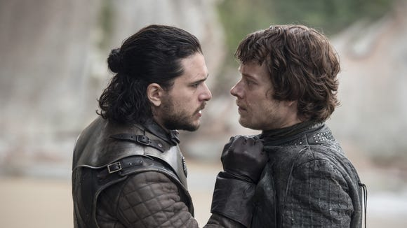 Jon and Theon