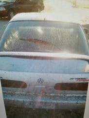 This vehicle was stolen from a parking lot on Dover