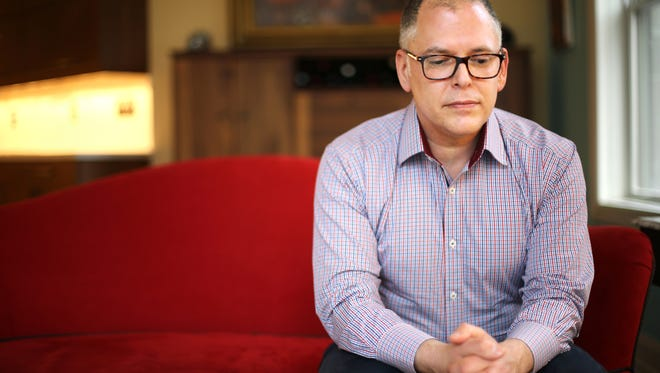 Jim Obergefell of Cincinnati. He and John Arthur married in Maryland because gay marriage is not legal in their home state of Ohio. After his husband died, Obergefell sued his state because Ohio won't allow his name on Arthur's death certificate. Now his case is in front of the U.S. Supreme Court.