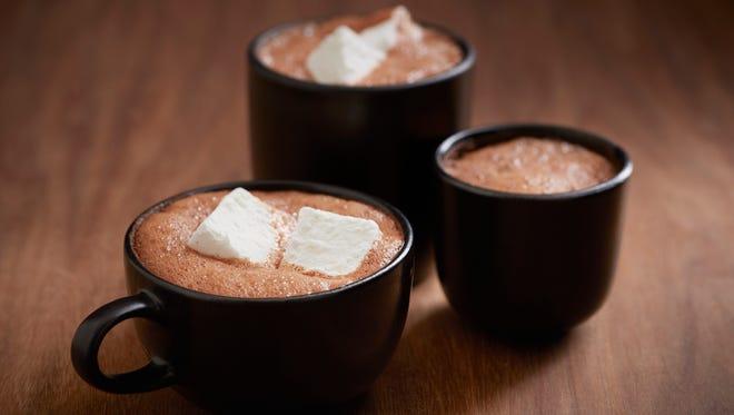 In San Francisco, Recchiuti at theLab serves Dark Hot Chocolate with the brand's signature chocolate pistoles and Vanilla Bean Marshmallow.