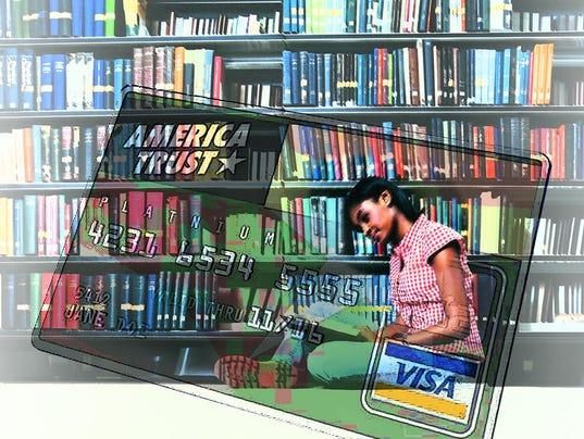 DFP Tompor College credit cards ILLUSTRATION PRESTO