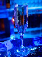 Waldorf Astoria Park City in Park City, Utah, is opening the Arctic Ice Lounge on Jan. 15, 2016. It will be a ski-in, ski-out ice bar with ice sculptures and seating, serving Champagne in a partnership with Moet.