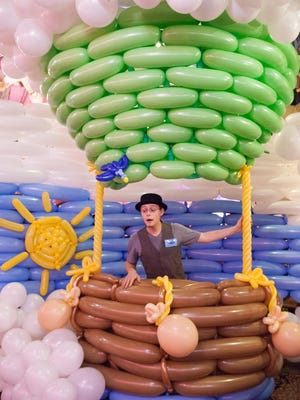 """The Airigami balloon adventure, """"Airigami Balloon Adventure: Journey on the Genesee"""" opens Friday, Jan. 29."""