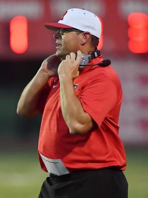 Rossville coach Derick Hammes leads his top-ranked Bulldawgs into Friday night's War on 24 clash with arch rival Silver Lake. Rossville is 6-0