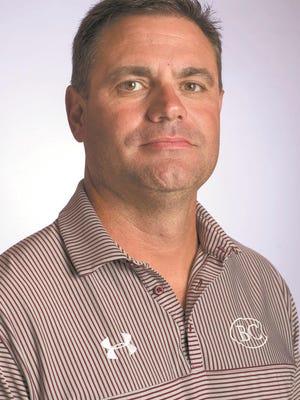 Benedictine football coach Danny Britt.