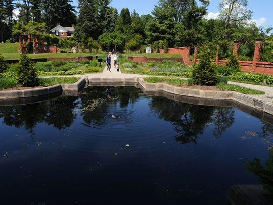 The Italian Gardens at the Vanderbilt Mansion National