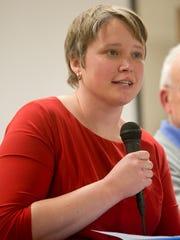 Former state representative Mandy Wright of Wausau