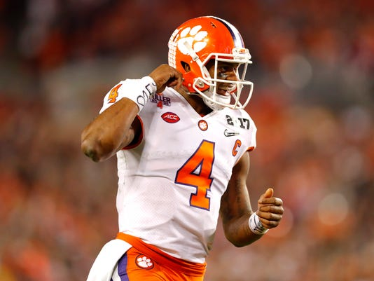 cheap for discount 5c84d e0812 NFL draft guru Kiper has Bills drafting QB Deshaun Watson