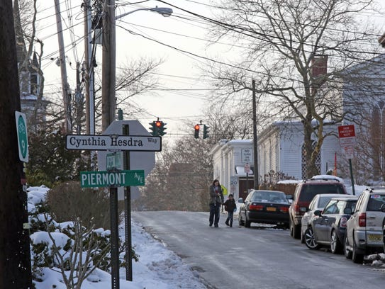 Piermont Avenue is also known as Cynthia Hesdra Way