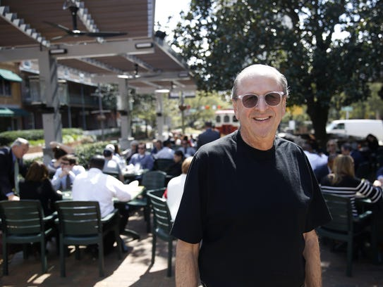 Andrew's founder Andrew Reiss poses Monday in front
