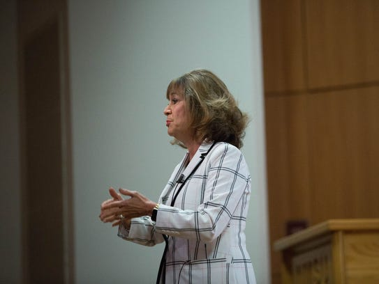 Barbara Damron, one of the candidates for New Mexico