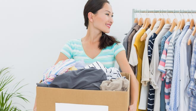 If you donate used clothing and household items, your deduction value will be what they were worth on the date of the donation it a typical thrift shop.