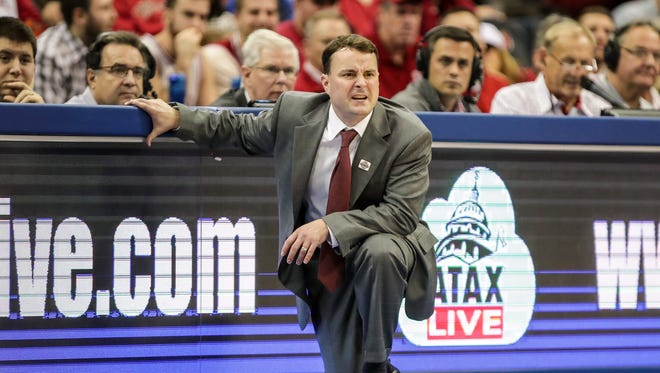 Archie Miller is off to a rough start at Indiana.