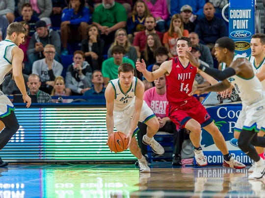 Much better FGCU defense not only has led the Eagles to a 3-0 ASUN start but also to them flying the floor much, much more.