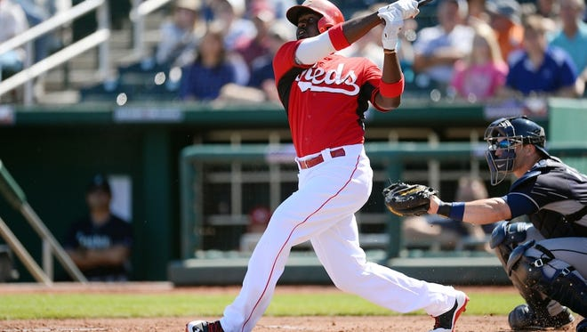 Brandon Phillips is hitting just .161. this spring.