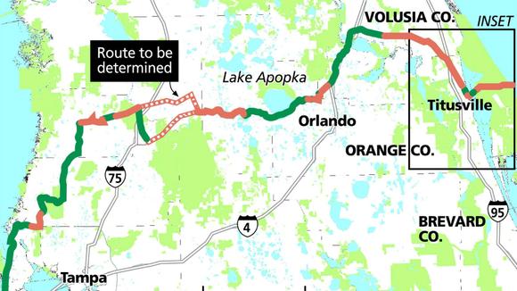 Florida's Coast to Coast Connector.