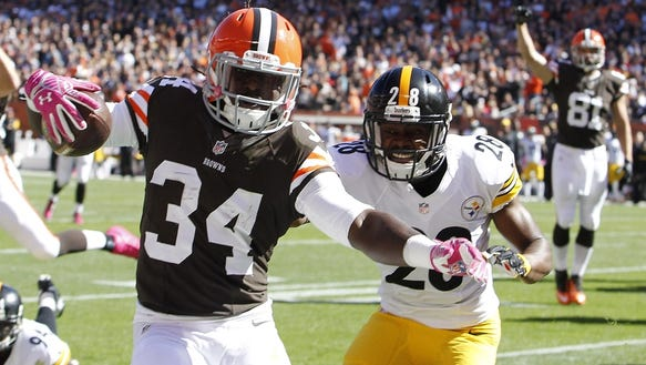 Oct 12, 2014; Cleveland, OH, USA; Cleveland Browns