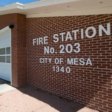Fire Station 203 in Mesa.