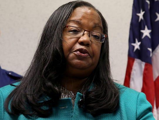 Wayne County Prosecutor Kym Worthy