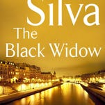 The Black Widow by Daniel Silva tops the fiction list this week.