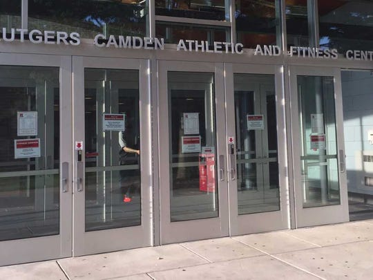 A former volleyball player at Rutgers-Camden alleged in a lawsuit she was the victim of sexual harassment.