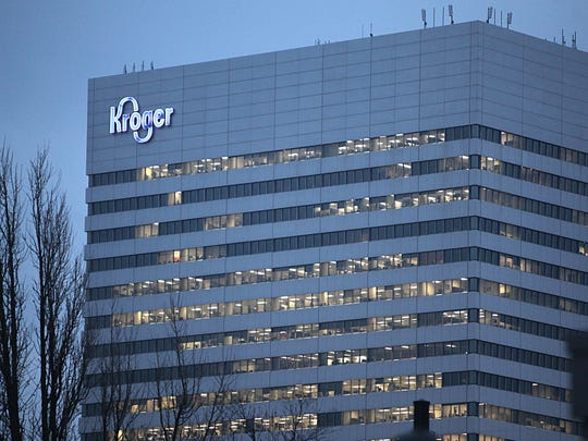 Kroger headquarters in downtown Cincinnati