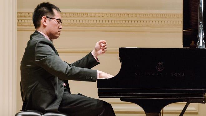 2017 Waring Solo Winner YI-Yang Chen At Carnegie Hall