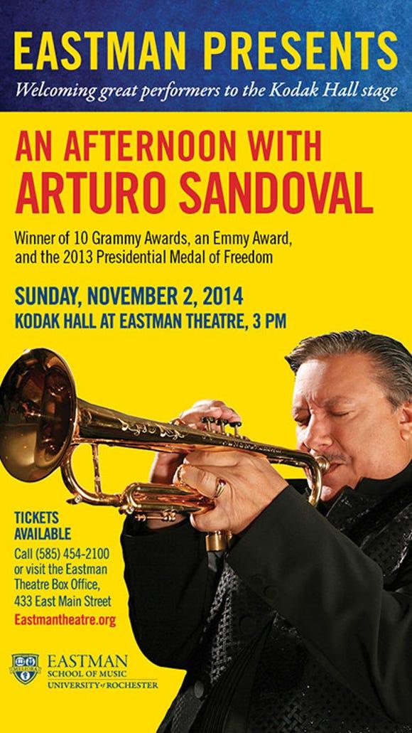 Grammy Winner and Cuban Jazz Legend Arturo Sandoval